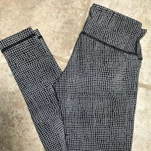 Lululemon patterned leggings